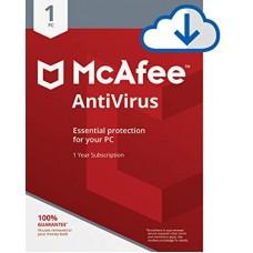 McAfee Anti-Virus - 1 PC, 1 Year  [E-Mail Download]