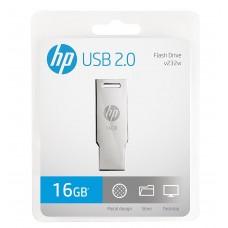 HP v236w 16GB Metal Pen Drive (Silver)