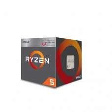 AMD Ryzen 5 2400G Processor with 4 Cores/8 Processing Threads, with powerful Radeon™ RX Vega 11 Graphics onboard