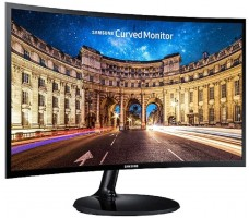 "Samsung 59.8 cm (23.5"") Curved Monitor with Curvature 1800R"