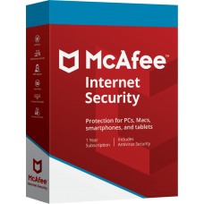 McAfee Internet Security - 1 PC, 1 Year [E-Mail Download]