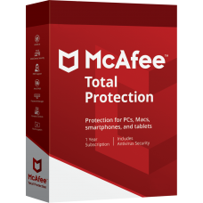 McAfee Total Protection 3PC 1YR [E-Mail Download]