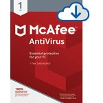 McAfee Anti-Virus - 1 PC, 1 Year  [E-Mail Download]