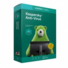 KASPERSKY ANTIVIRUS 3 USERS, 1 YEAR