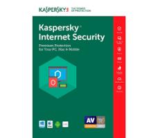 KASPERSKY INTERNER SECURITY 3 USER 1 YEAR