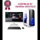 """Core i5-9400F  l MSI - B360M Pro VDH l 16GB l 4TB l6GB Graphic Card l 21.5""""LED - Designer System"""