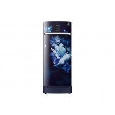 Samsung 220L Curd Maestro™ One Door - Midnight Blossom Blue