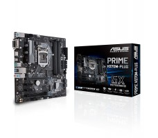 ASUS PRIME H370M-PLUS LGA 1151 (300 Series) Intel H370 SATA 6Gb/s USB 3.1 mATX motherboard