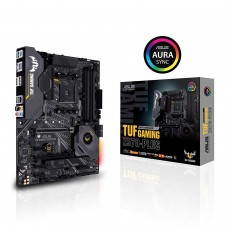 Asus TUF Gaming X570-PLUS AMD AM4 Motherboard HDMI, DP, SATA 6Gb/s, USB 3.2 Gen2 and RGB