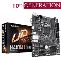 Gigabyte H410M H (Rev. 1.0) |H410 Ultra Durable Board l 8118 Gaming LAN, Anti-Sulfur Resistor