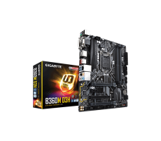 GIGABYTE B360M D3H (LGA1151/Intel/H270/Micro ATX/USB 3.1 Gen 2 (USB3.1) Type A/DDR4/Motherboard
