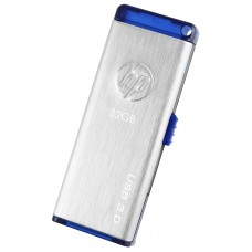 HP x730w USB 3.0 32GB Flash Drive (Gray)