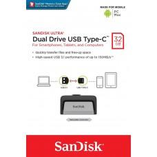 SanDisk Ultra Dual USB Drive 3.1,  32GB