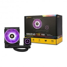 Antec Kuhler H2O K Series K120 RGB All in One CPU Cooler with Powerful Liquid